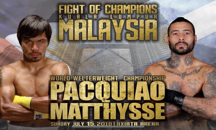 Manny Pacquiao vs. Lucas Matthysse