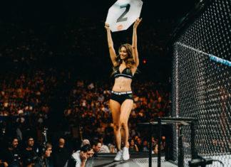 UFC Octagon Girl Red Dela Cruz