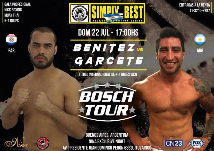 Simply the Best 21 Buenos Aires: Benitez vs. Garcete