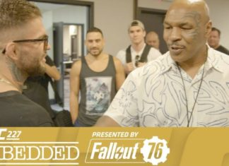 Mike Tyson appears at UFC 227 Embedded