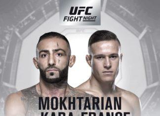UFC Adelaide: Ashkan Mokhtarian faces Kai Kara-France at Fight Night 142