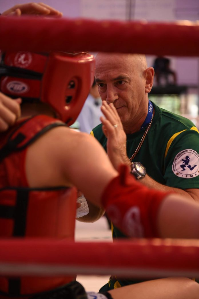 Team Australia at IFMA Muay Thai Youth World Championships