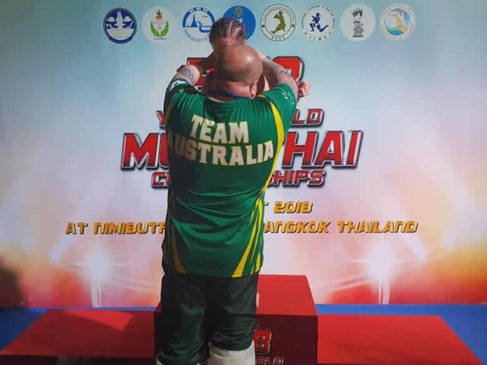 Team Australia at IFMA Muay Thai Youth Worlds