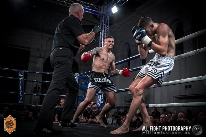 Toby Smith takes the second win against Jakub Benko at Rebellion Muay Thai 20