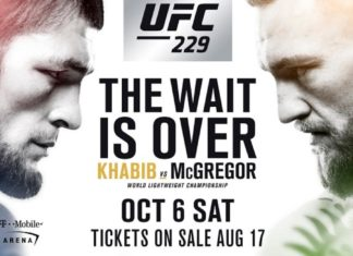 Conor McGregor vs Khabib Nurmagomedov set for UFC 229