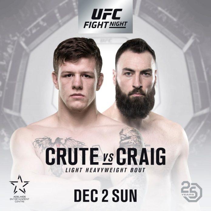 UFC Adelaide: Crute vs. Craig
