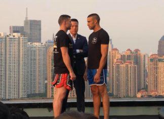 Daniel Dawson vs Mustapha Haida at One Shanghai
