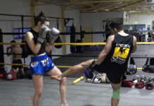 How to throw inside leg kick in Muay Thai