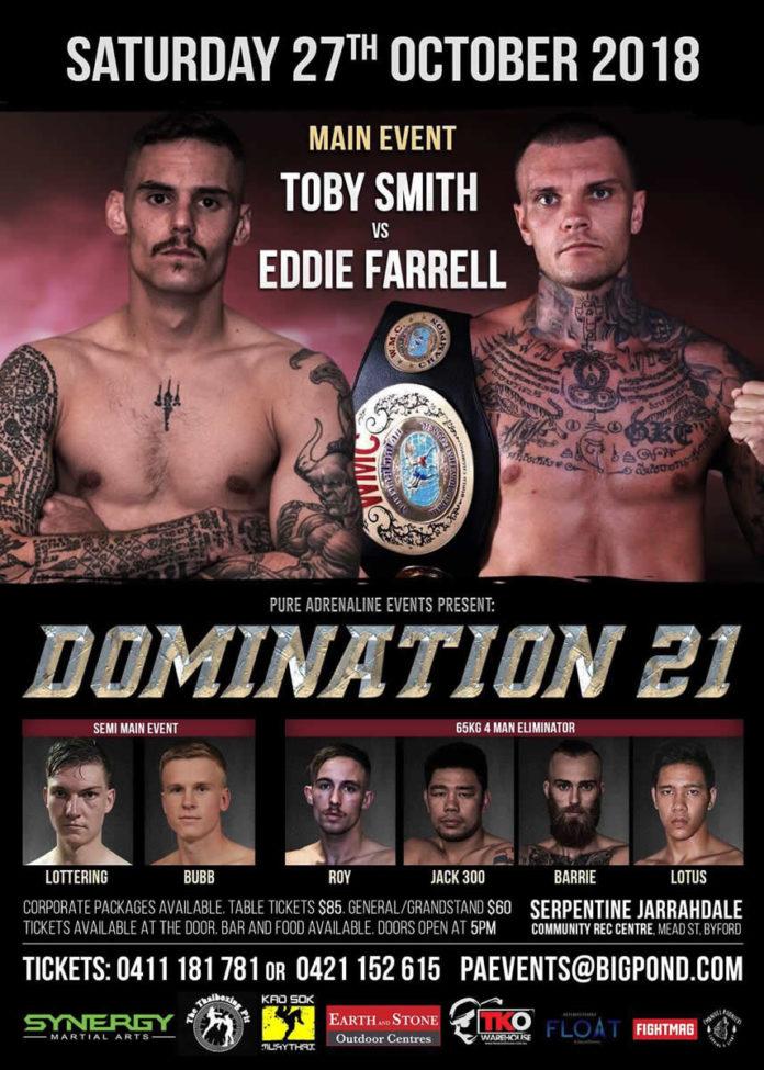 Domination Muay Thai 21
