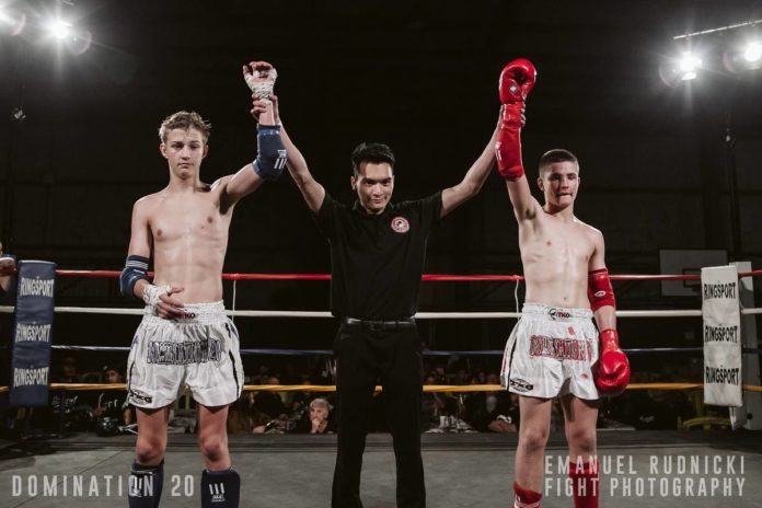 Dylan Thorp faces Drew Hedley in rematch at Domination Muay Thai 21
