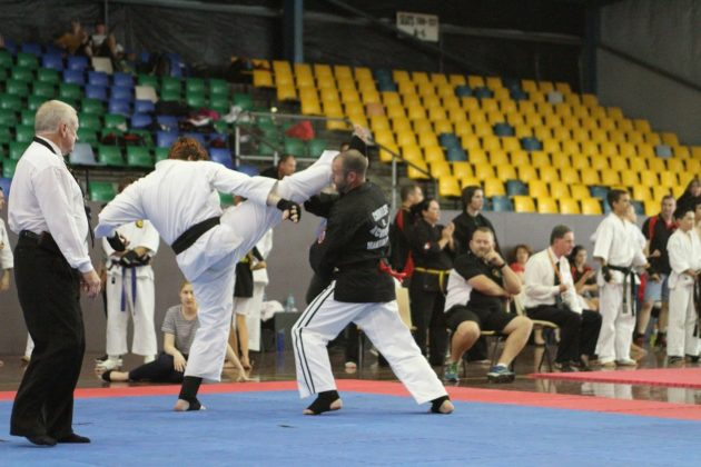 Edward Hope in Martial Arts tournament