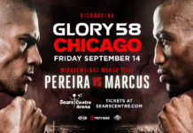 Fight Weekend with GLORY 58 Chicago