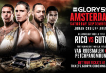 Rico Verhoeven faces Guto Inocente at GLORY 59 Amsterdam