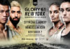 Two titles on the line at GLORY 61 New York