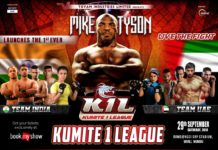 Kumite 1 League with Mike Tyson