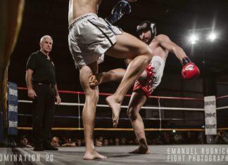 Misagh Norouzi at Domination Muay Thai 20