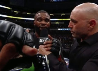 Tyron Woodley retains welterweight title at UFC 228