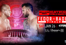 Fedor Emelianenko vs Ryan Bader headlines Bellator at The Forum