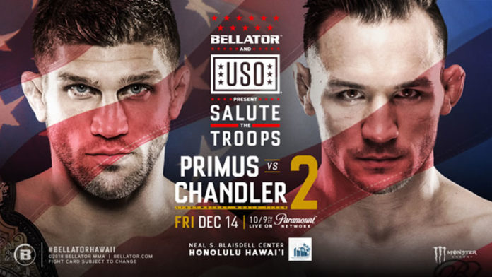 Brent Primus and Michael Chandler rematch at Bellator Hawaii