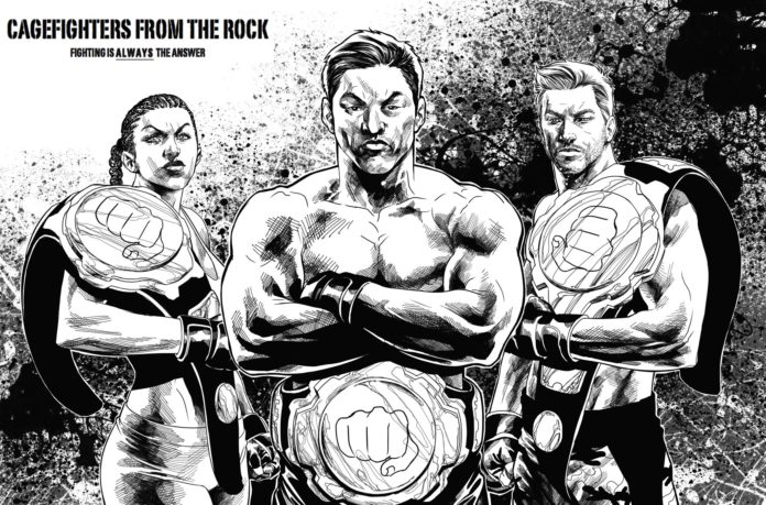 Cagefighters from the Rock