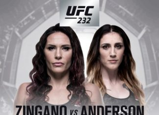 Cat Zingano vs Megan Anderson added to UFC 232 fight card