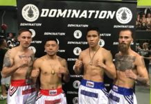 Knockout tournament featured on Domination Muay Thai 21