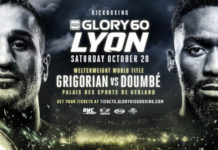 GLORY 60 Lyon fight card finalized