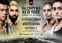 GLORY 61 New York fight card announced
