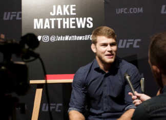 Jake Matthews faces Tony Martin at UFC Adelaide