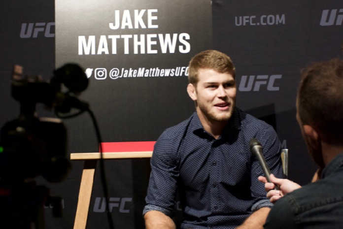 Jake Matthews faces Tony Martin at UFC Adelaide