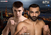 Rusu vs Dzhavadov rematch headlines KOK Kickboxing Riga