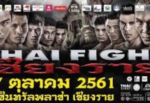 Saenchai faces Isaac Santos at Thai Fight Chiang Rai