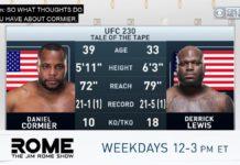 Derrick Lewis talks UFC 230 Daniel Cormier fight at The Jim Rome Show