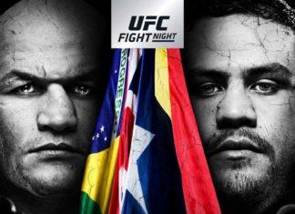UFC Adelaide poster landed