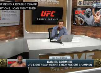 Daniel Cormier appears on The Jim Rome Show ahead of UFC 230