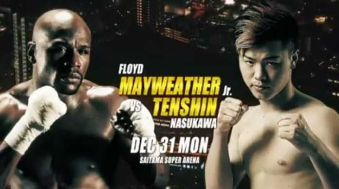 Floyd Mayweather faces Tenshin Nasukawa at RIZIN 14 Japan