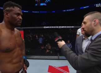 Francis Ngannou defeats Curtis Blaydes at UFC Beijing Fight Night 141