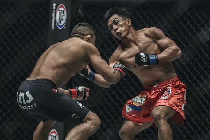 Kevin Belingon defeats Bibiano Fernandes at ONE Championship Heart of the Lion