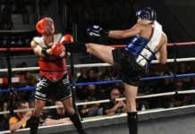 Misagh Norouzi makes Muay Thai debut