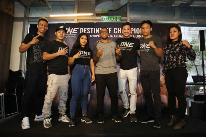 ONE Championship Destiny of Champions media party