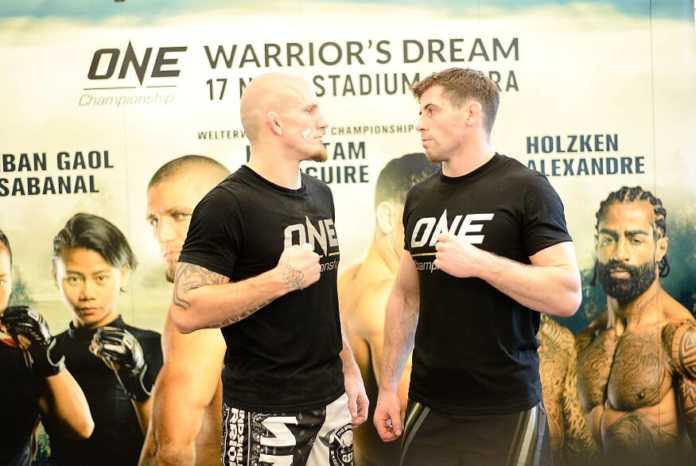 Tyler McGuire vs Zebaztian Kadestam for ONE Championship welterweight title