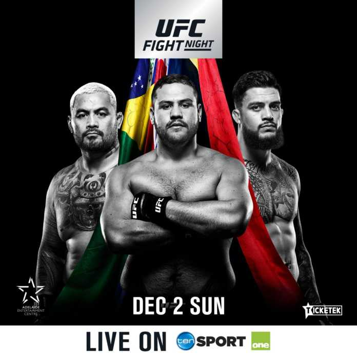 UFC Adelaide fight card changes