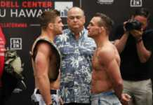 Bellator Hawaii Primus vs Chandler weigh-ins