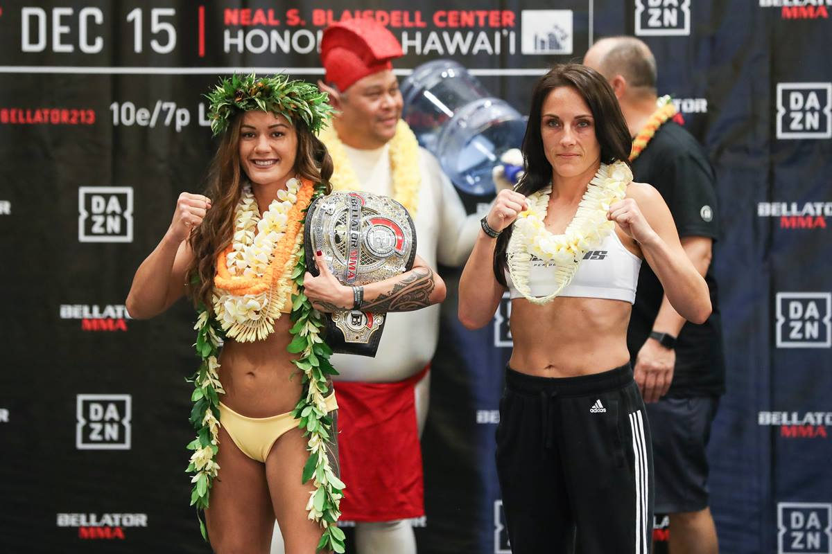 Bellator Honolulu: Macfarlane vs. Letourneau weigh-in results