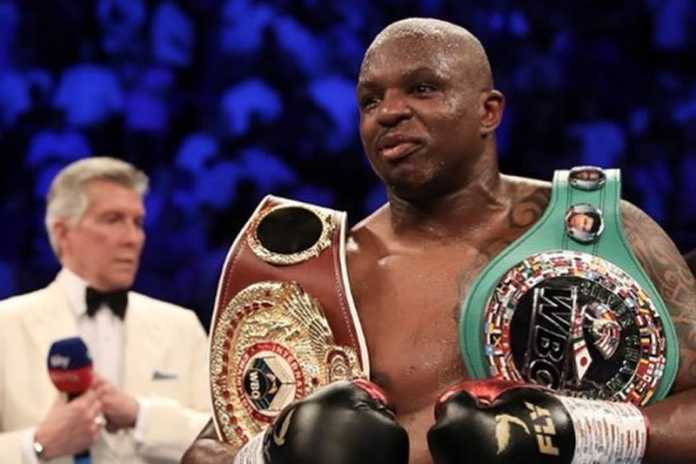 Dillian Whyte calls out Anthony Joshua
