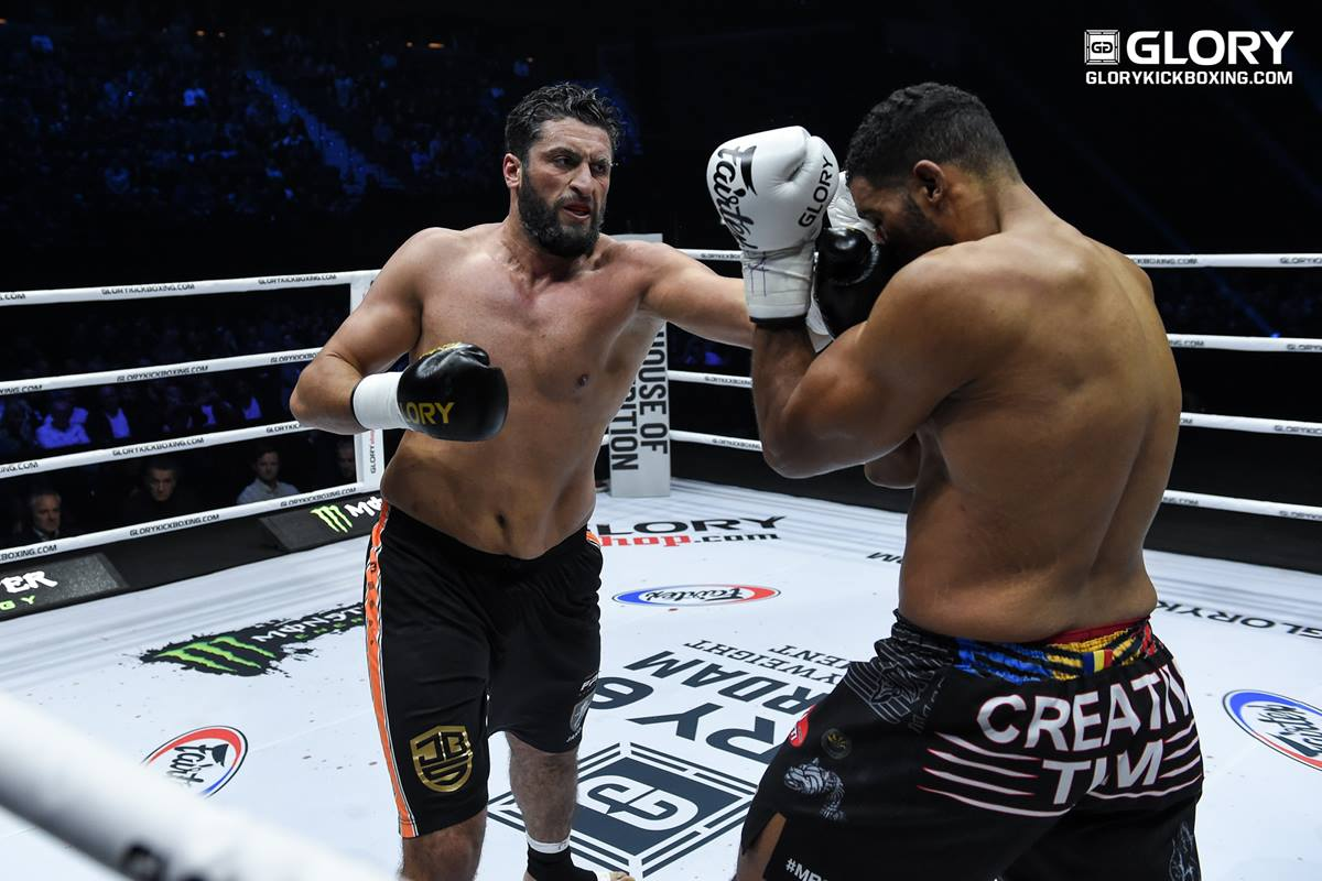 GLORY 62 results: Jamal Ben Saddik wins $150,000 knockout tournament
