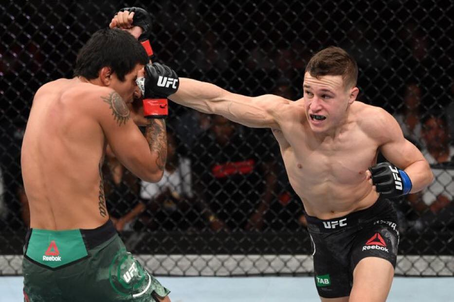 UFC 234: Kai Kara-France faces Raulian Paiva at Rod Laver Arena Melbourne