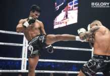 Petchpanomrung Kiatmookao vs Serhii Adamchuk headlines GLORY 63 Houston