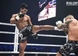 Petchpanomrung Kiatmookao vs Serhii Adamchuk headlines GLORY 63 Houston