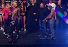 UFC 231 Holloway vs Ortega weigh-ins